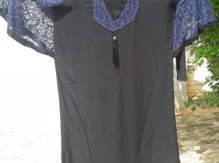 Abaya brodée et perlée